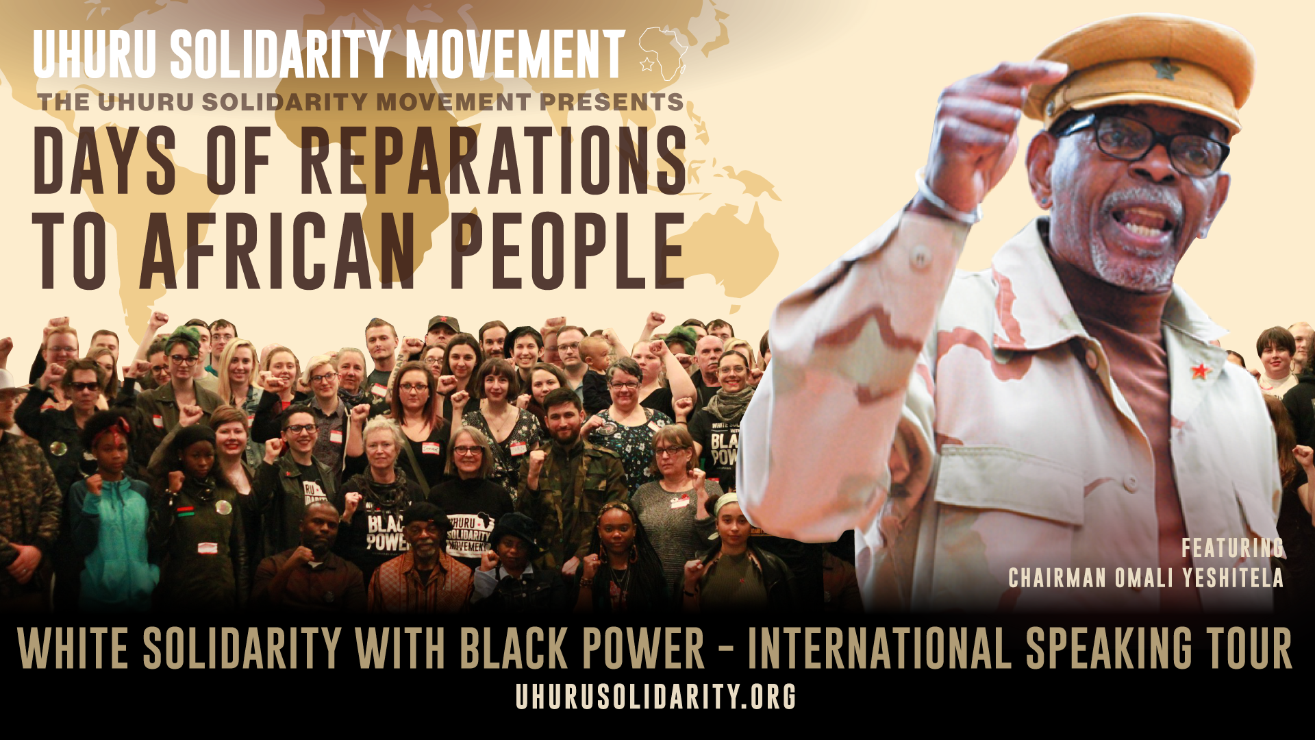 2018 International Speaking Tour Days of Reparations to African People