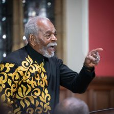 African People's Socialist Party USA and African Socialist International Chairman Omali Yeshitela at January 24, 2019 Oxford Union Debate at Oxford University